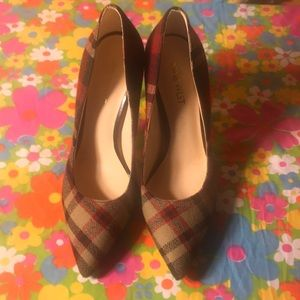 "❤️Nine West ""Tatiana"" Plaid Pumps❤️"